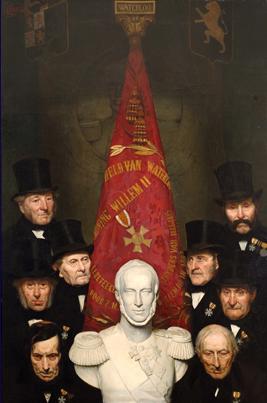 Acht Bossche oud-strijders Waterloo pronkstuk tijdens Nationale Museumweek in Museum Slager