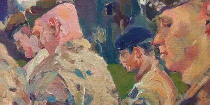 Expositie 'Royal Welsh Art' i.h.k.v. de bevrijding van 's-Hertogenbosch