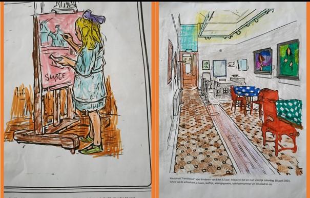 Teddy en Pippa winnaars Paas-Kleur-Wedstrijd